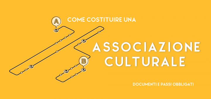come costituire un'associazione culturale