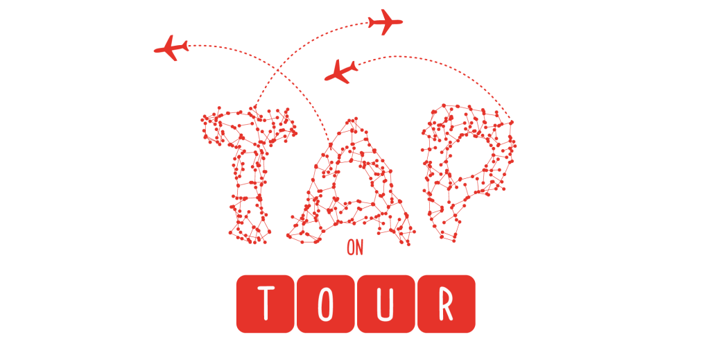 logo tap on tour torino arti performative