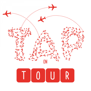 logo tap on tour torino arti performative